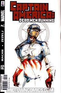 Captain America Dead Men Running #2