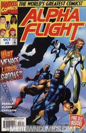 Alpha Flight Vol 2 #3
