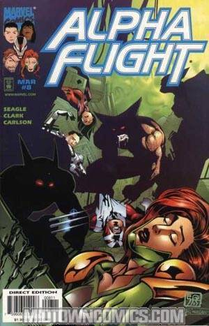 Alpha Flight Vol 2 #8