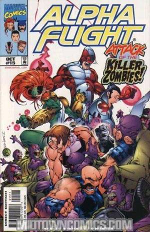 Alpha Flight Vol 2 #15