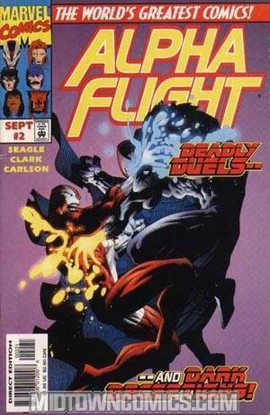 Alpha Flight Vol 2 #2 Cover B