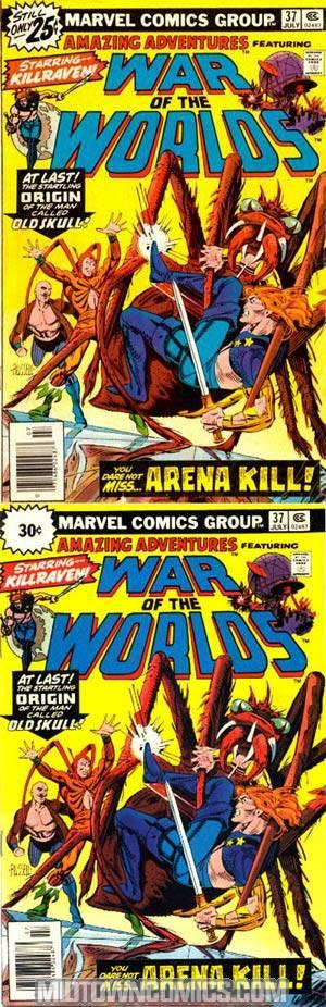 Amazing Adventures Vol 2 #37 Variant 35 cent Cover