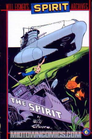 Will Eisners Spirit Archives Vol 6 HC