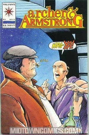 Archer & Armstrong #12