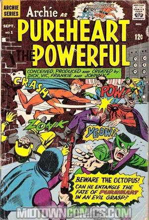Archie As Pureheart The Powerful #1