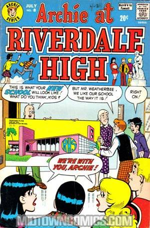 Archie At Riverdale High #8