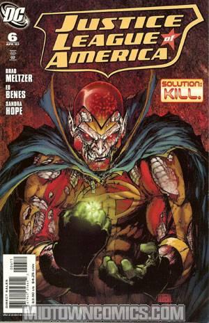 Justice League Of America Vol 2 #6 Regular Michael Turner Cover