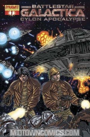 Battlestar Galactica Cylon Apocalypse #1 Cover D Carlos Rafael
