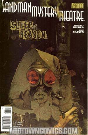 Sandman Mystery Theatre Sleep Of Reason #4