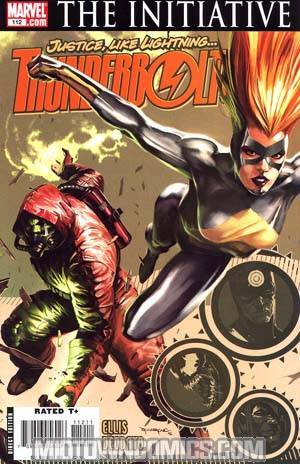 Thunderbolts #112 Regular Marko Djurdjevic Cover (The Initiative Tie-In)