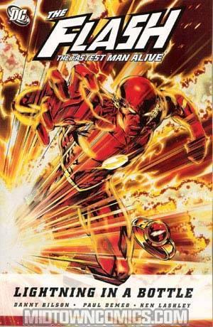 Flash The Fastest Man Alive Lightning In A Bottle TP