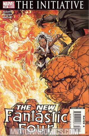 Fantastic Four Vol 3 #544 Cover A 1st Ptg (The Initiative Tie-In)