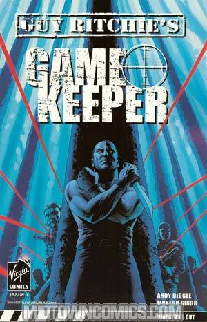 Gamekeeper #1 John Cassaday Cover