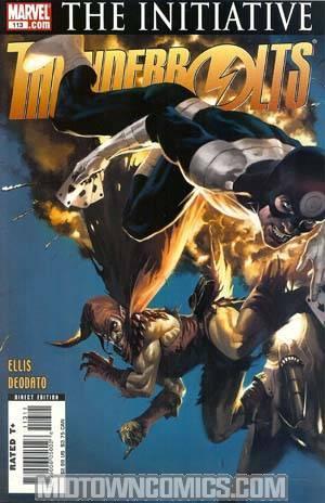 Thunderbolts #113 Regular Marko Djurdjevic Cover (The Initiative Tie-In)