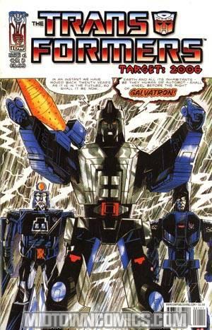 Transformers Spotlight Target 2006 #1 Regular Retro-Art Cover