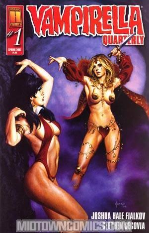 Vampirella Quarterly #1 Spring 2007 Regular Joe Jusko Cover