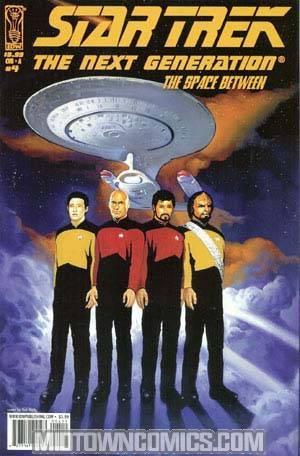 Star Trek The Next Generation The Space Between #4 Regular Ken Kelly Cover