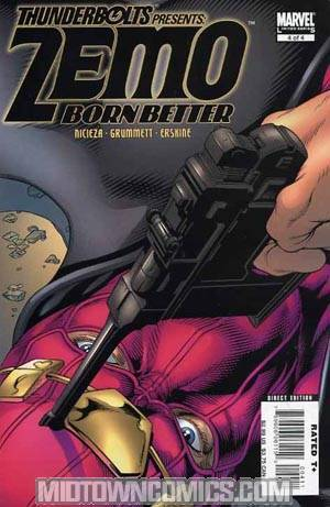 Thunderbolts Presents Zemo Born Better #4