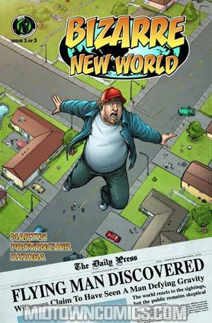 Bizarre New World #1 Cover A Regular
