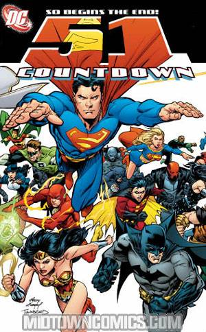 Countdown #51 Cover A Regular Edition