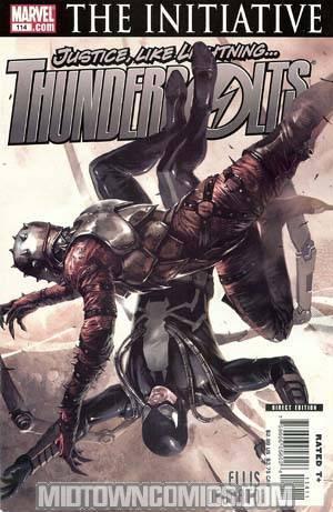 Thunderbolts #114 Regular Marko Djurdjevic Cover (The Initiative Tie-In)