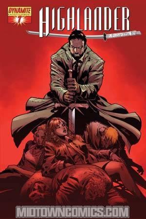 Highlander #7 Regular Pat Lee Cover