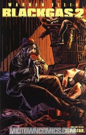 Warren Ellis Black Gas 2 #2 Gore Cvr