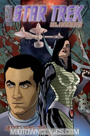 Star Trek Klingons Blood Will Tell #2 Regular David Messina Cover