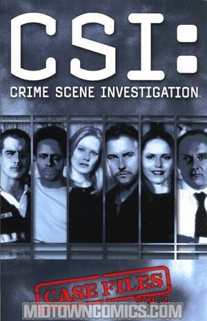 CSI Case Files Vol 2 TP