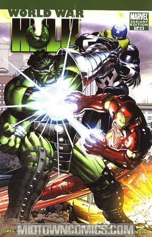 World War Hulk #1 Cover B Incentive John Romita Jr Variant Cover