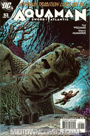 Aquaman Vol 4 #53 Sword Of Atlantis