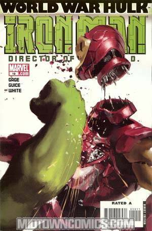 Iron Man Vol 4 #19 Cover A 1st Ptg (World War Hulk Tie-In)