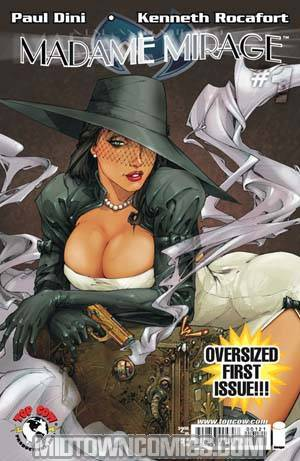 Madame Mirage #1 Cover B 1st Ptg Kenneth Rocafort