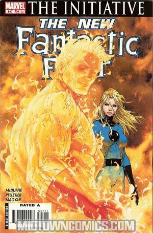 Fantastic Four Vol 3 #547 (The Initiative Tie-In)