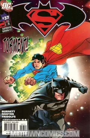 Superman Batman #37 Cover A Regular Dustin Nguyen Cover