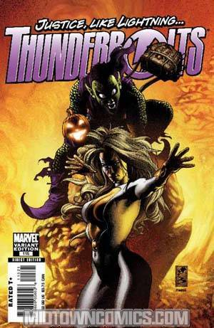 Thunderbolts #115 Incentive Simone Bianchi Variant Cover (The Initiative Tie-In)