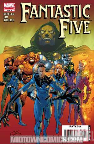 Fantastic Five Vol 2 #1