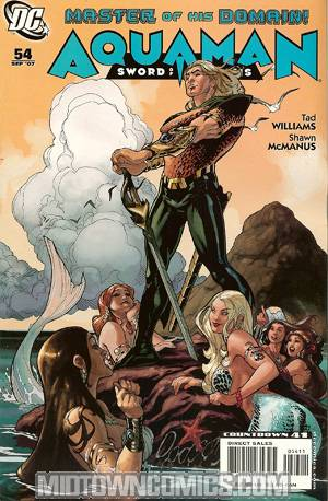 Aquaman Vol 4 #54 Sword Of Atlantis