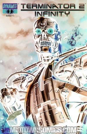 Terminator 2 Infinity #1 Cover E Incentive Pat Lee Negative Cover