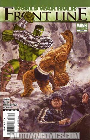 World War Hulk Front Line #2