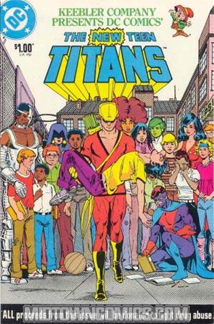 New Teen Titans Drug Awareness Campaign Keebler Version Cover B Direct Sale Reissue
