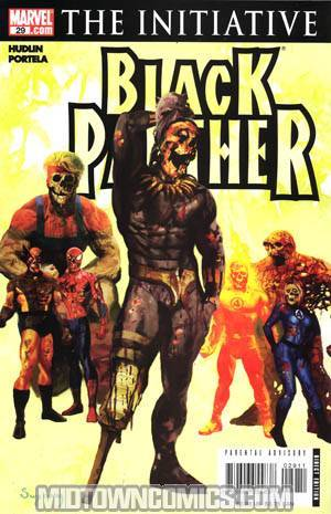 Black Panther Vol 4 #29 (The Initiative Tie-In)