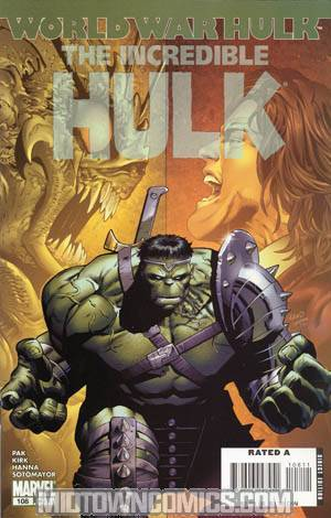 Incredible Hulk Vol 2 #108 (World War Hulk Tie-In)