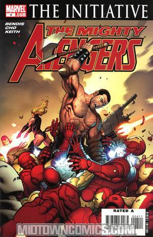 Mighty Avengers #4 (The Initiative Tie-In)