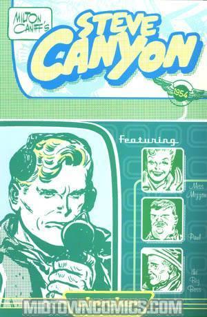 Milton Caniffs Steve Canyon 1954 TP