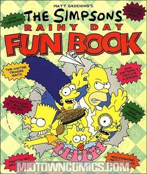 Simpsons Rainy Day Fun Book TP