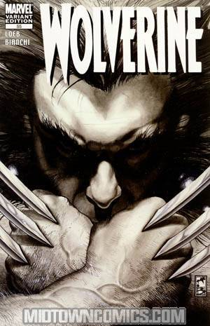 Wolverine Vol 3 #55 Cover C Black And White Edition