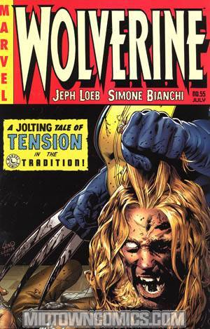 Wolverine Vol 3 #55 Cover B Greg Land Variant Cover