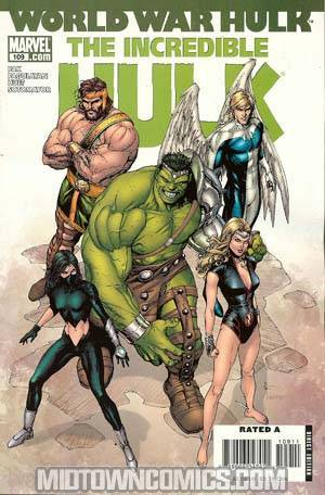 Incredible Hulk Vol 2 #109 (World War Hulk Tie-In)