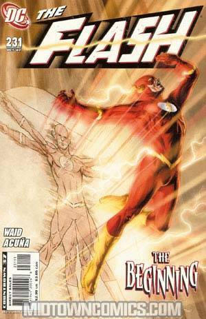 Flash Vol 2 #231 Cover B Doug Braithwaite Cover